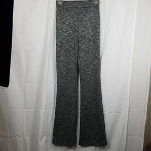 H & M gray and black wide leg lounge pants